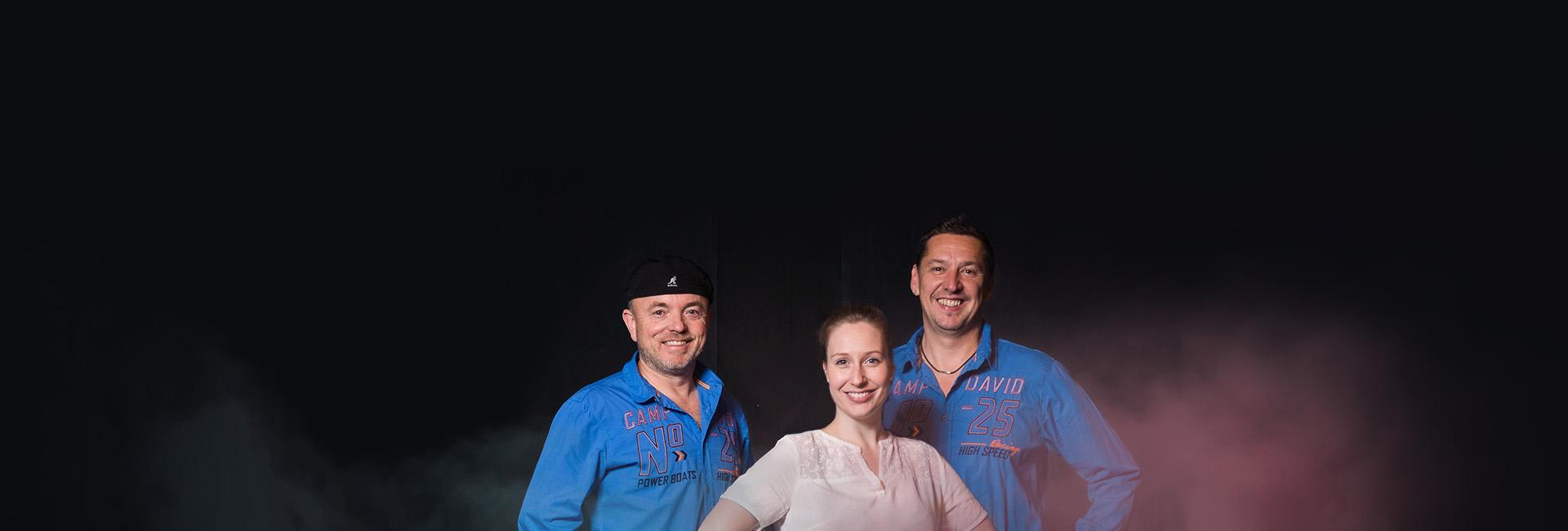Eventband time4music - Partymusik mit Ramona, Axel und Ingo
