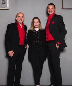 Partyband time4music - Ramona, Axel und Ingo