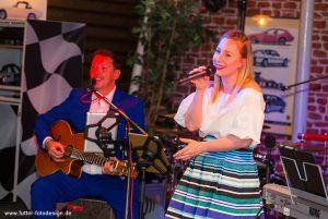time4music mit Ramona Köhler bei einer Hochzeitsfeier