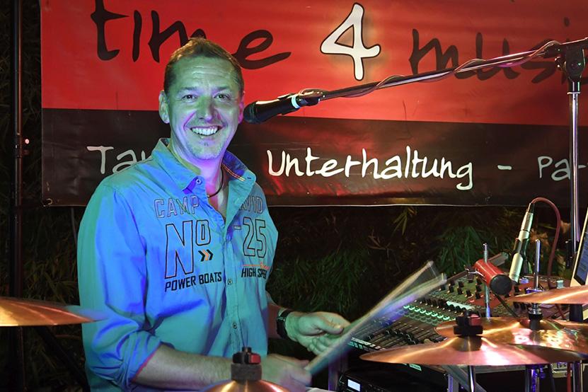 Tanzband time4music: Ingo Sibert